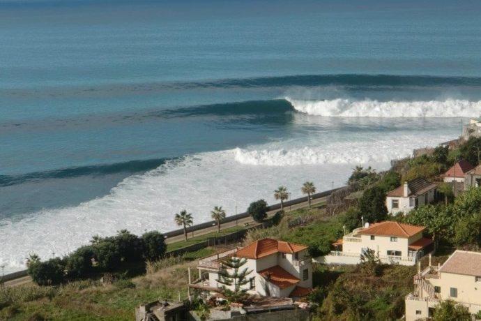 Jardim do Mar - Madeira Island Surf Spot