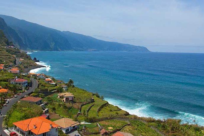 Sao Vicente - Madeira Island Surf Spot